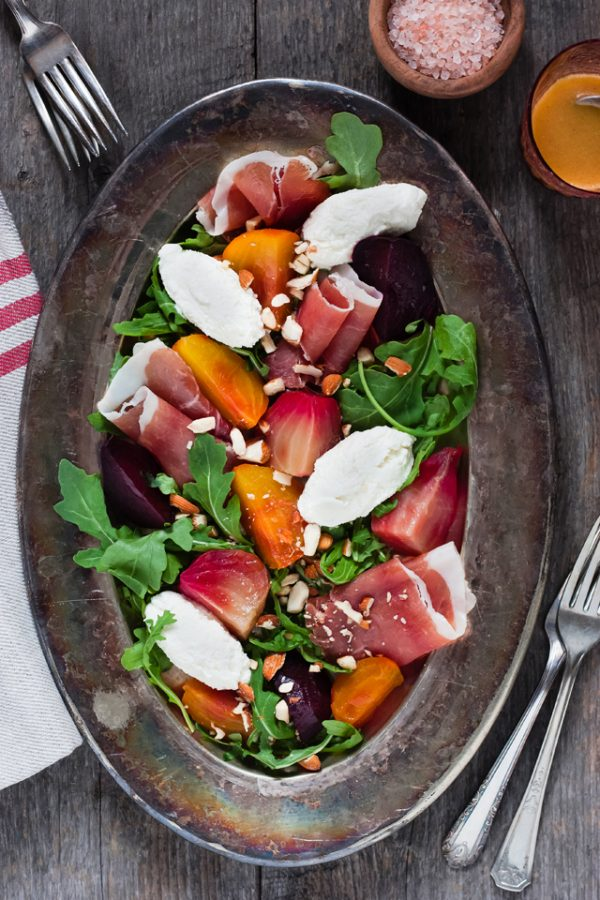 Beets & Ricotta Autumn Salad, Ensemble Cookbook on christelleisflabbergasting.com