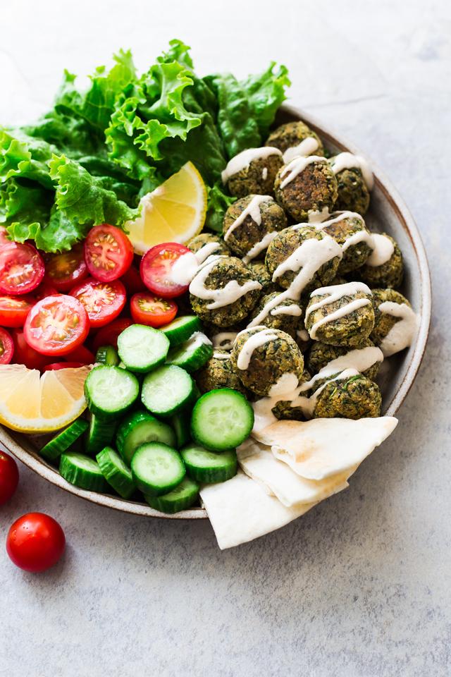 Green Baked & Easy Falafel