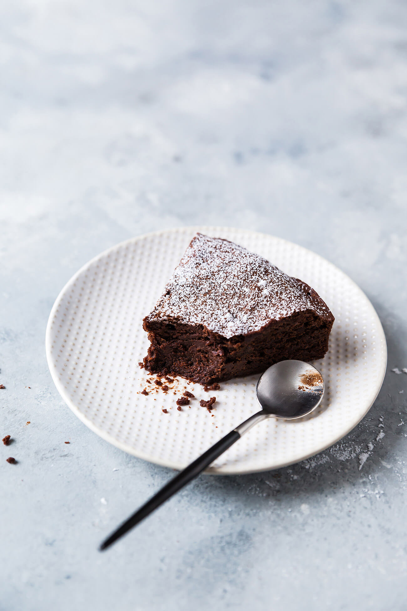 Gâteau au chocolat et à l'huile d'olive
