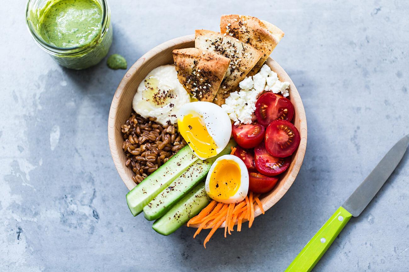 Bol déjeuner Libanais